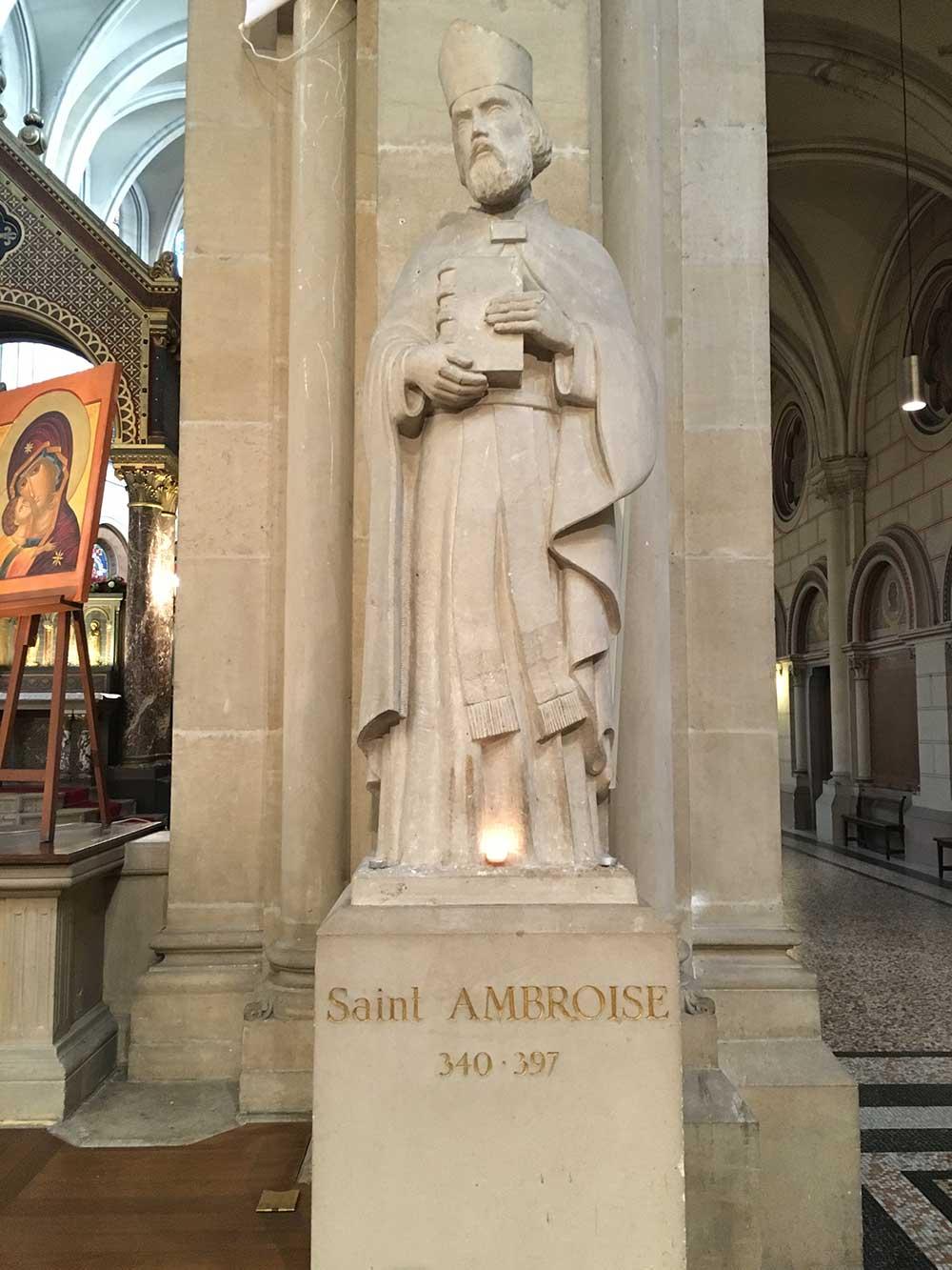 Statue de Saint-Amtoine