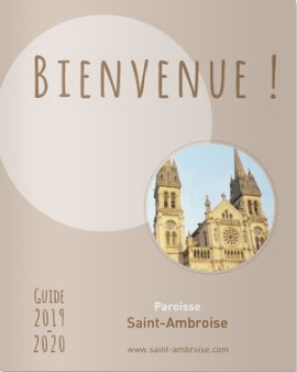 Guide paroissial Eglise Saint Ambroise 2019 2020