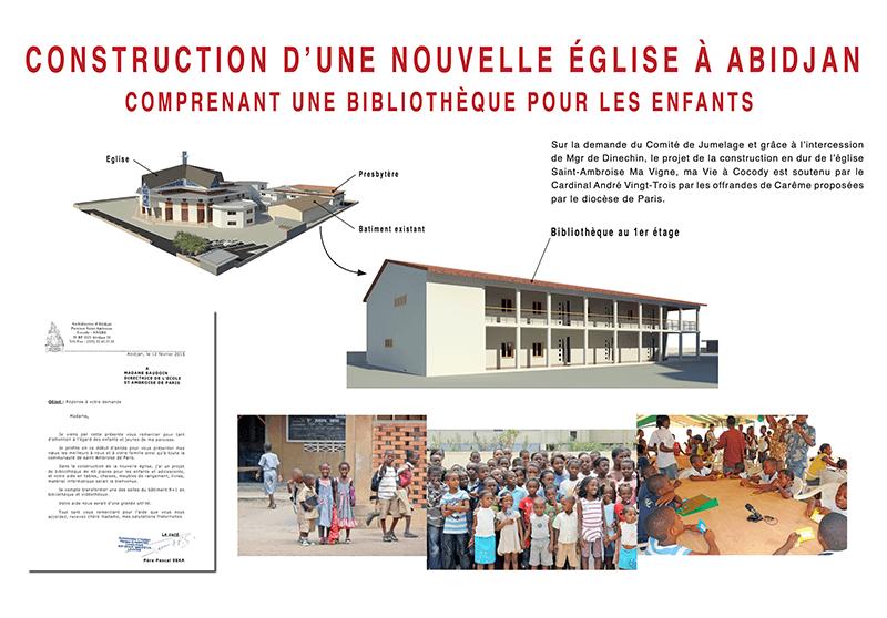 Projet église à Abidjan Saint-Ambroise