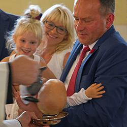 Baptême enfant moins de deux ans