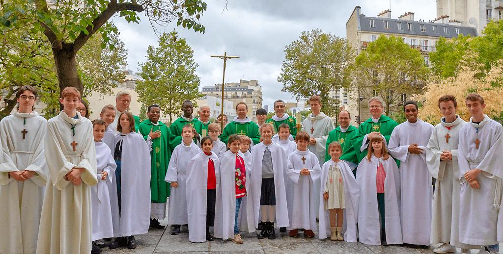 Photo de l'équipe paroissiale Saint-Ambroise 2020