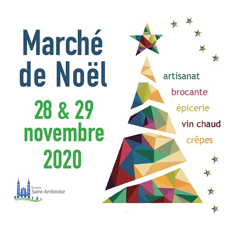 marché de Noel de Saint Ambroise