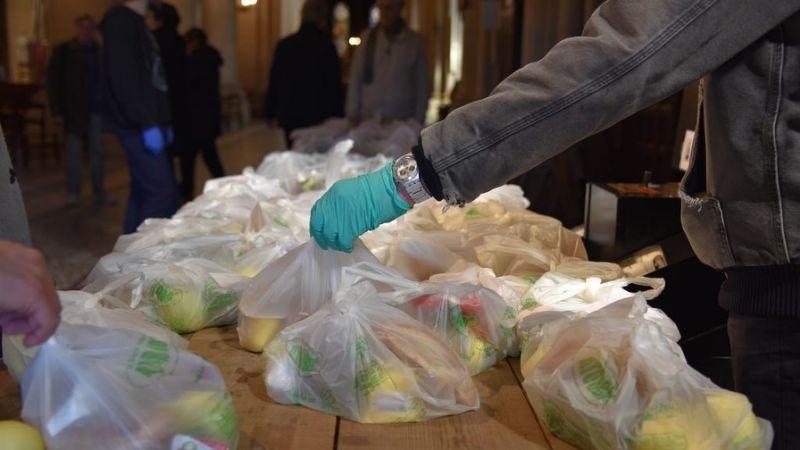 distribution alimentaire à Saint-Ambroise