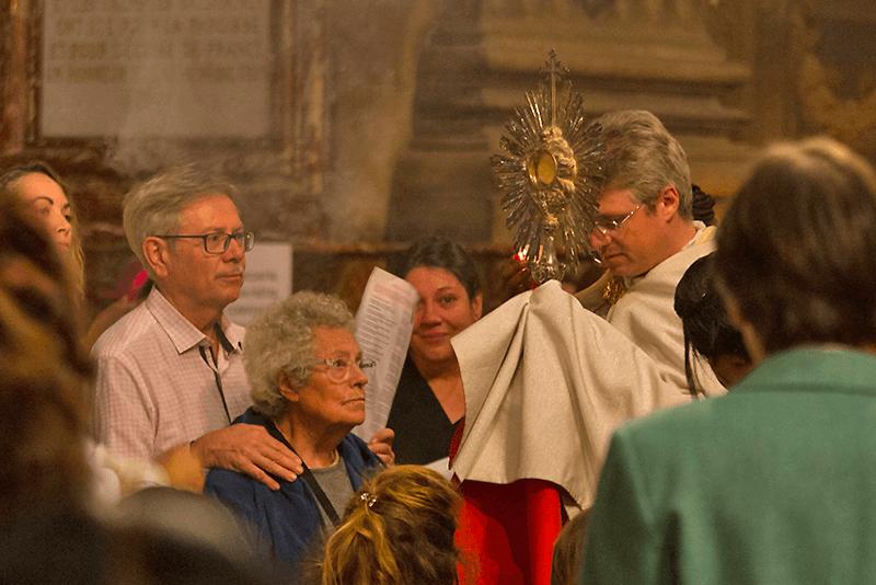 Sacrement avec le Père Jérémie