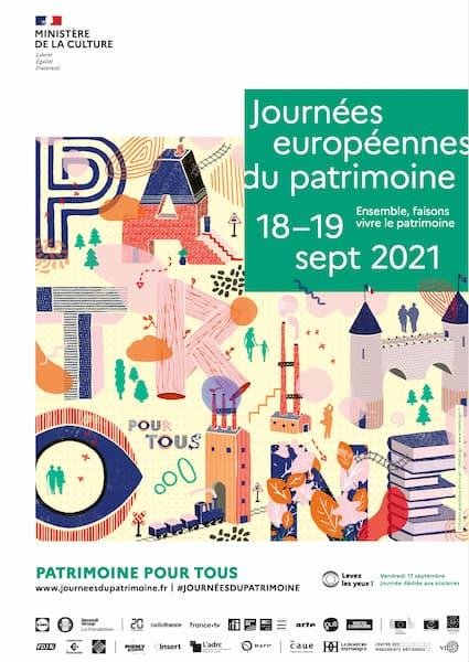 Visite journée du Patrimoine 2021