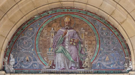 Saint Ambroise, docteur de l'église