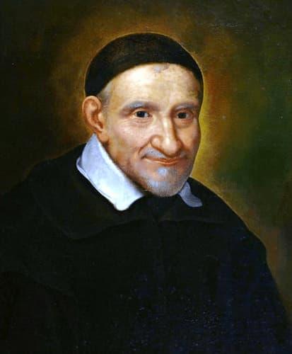 Saint Vincent de Paul, portrait