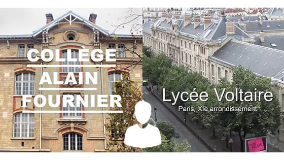 Aumônerie du collège Alain-Fournier, et du lycée Voltaire