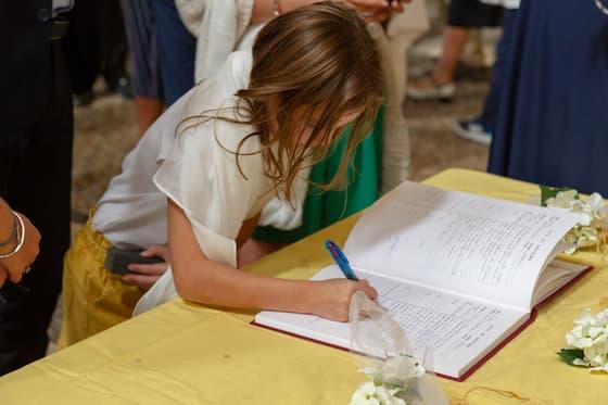 Confession de foi signature