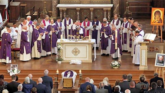 Offrande pour des funérailles