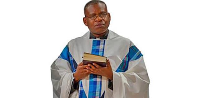 Père Narcisse RURENGA, en mission d'études