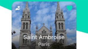 Application quête pour Saint-Ambroise