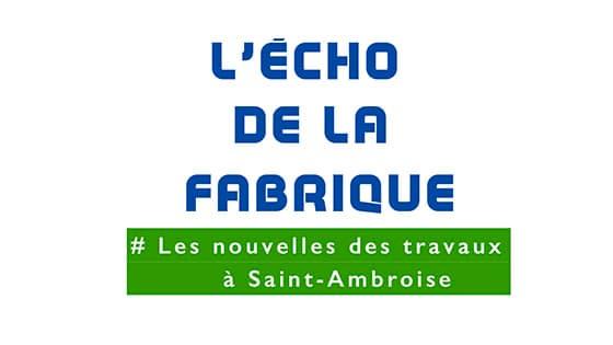 Les Échos de la Fabrique de Saint-Ambroise
