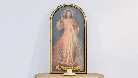 Christ Miséricorde, tableau, Jésus j'ai confiance en Toi