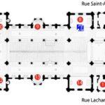 Petit plan d'église de Saint-Ambroise