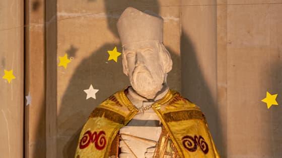 Saint Ambroise vêtement de fête