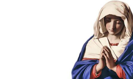 Vierge Marie priant, prière de Louange