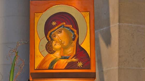 Prière du chapelet marial