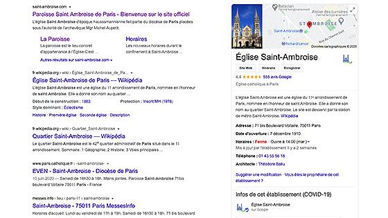 Infos pratiques, liens sur Saint-Ambroise
