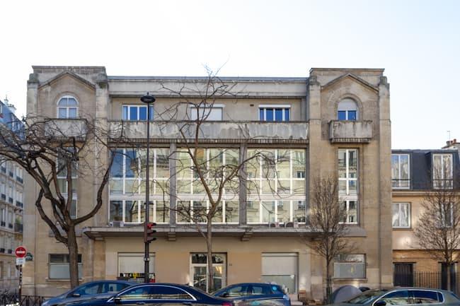 maison paroissiale façade principale entrée