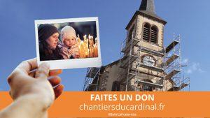 Affiche pour la Quête pour les chantier de l'église 2020