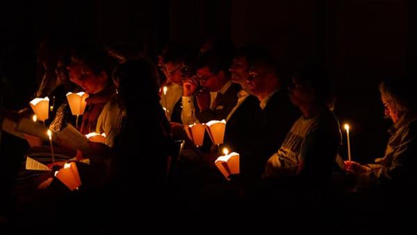 Photo de la Vigile de la résurrection à Saint-Ambroise