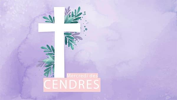 Annonce pour le Mercredi des Cendres
