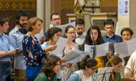 Photo du groupe de la Chorale de Saint-Ambroise