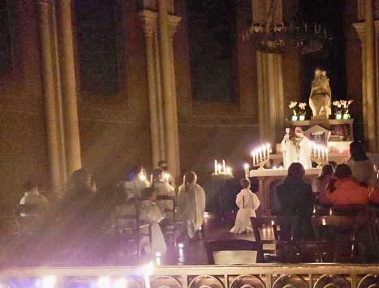 Messe Aurore le 12 déec à Saint-Ambroise
