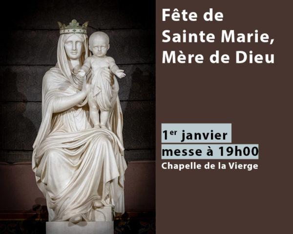 Visuel pour la Fête de Marie, Mère de Dieu à Saint-Ambroise