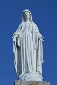 Assomption Statue de Marie
