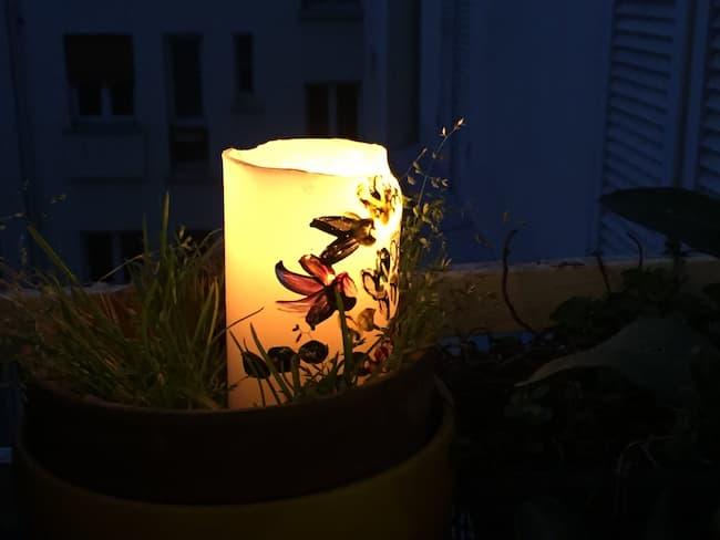 bougies à nos fenêtres