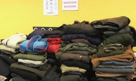 Solidarité, Collecte de vêtements chauds à Saint-Ambroise pour les plus défavorisés