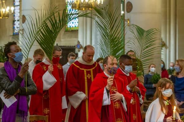 Messe des Rameaux, photos du 28/03/2021