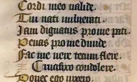 Stabat Mater du 15ème siècle