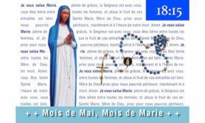 chapelet animé 2021 de Saint Ambroise sur zoom