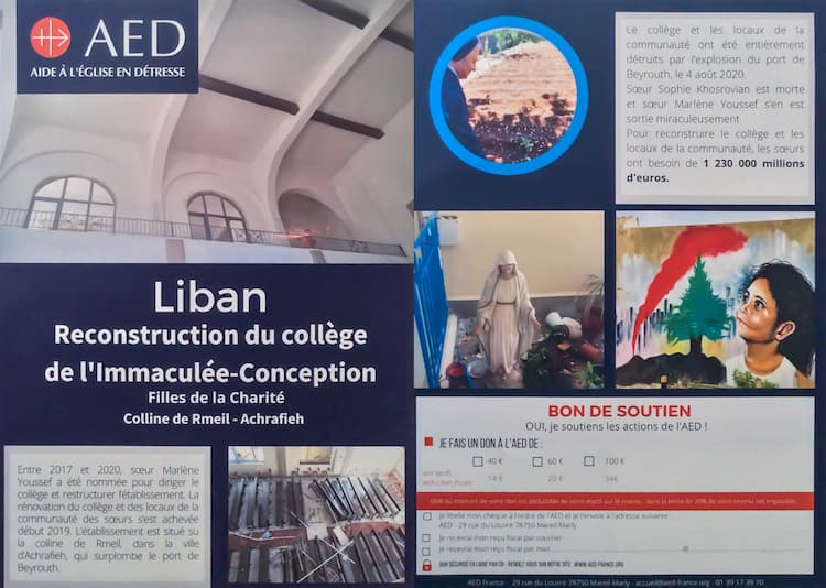 AED tract Liban