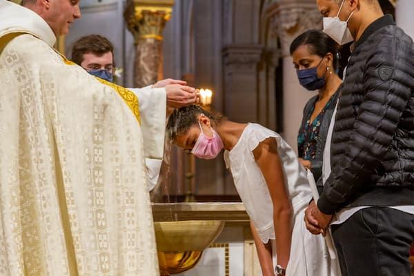 catéchumène baptisé