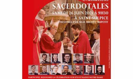 ordinations prêtres 2021 Paris