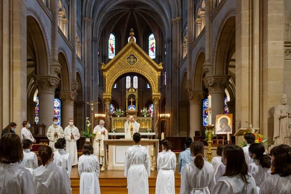 Messe profession de foi