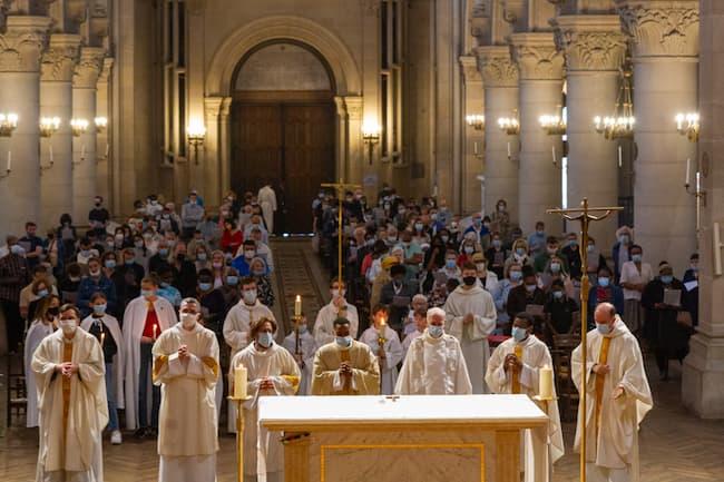 Kevin ANASTASE Messe à Saint Ambroise