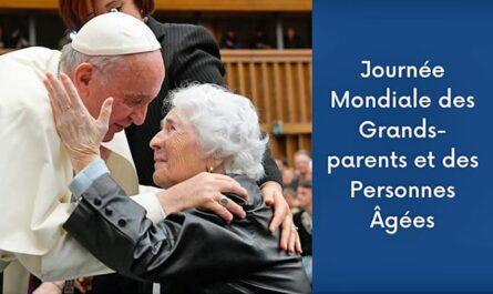 Journée mondiale des grands-parents avec le pape François