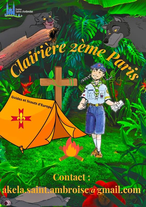 Clairière 2ème Paris à Saint Ambroise