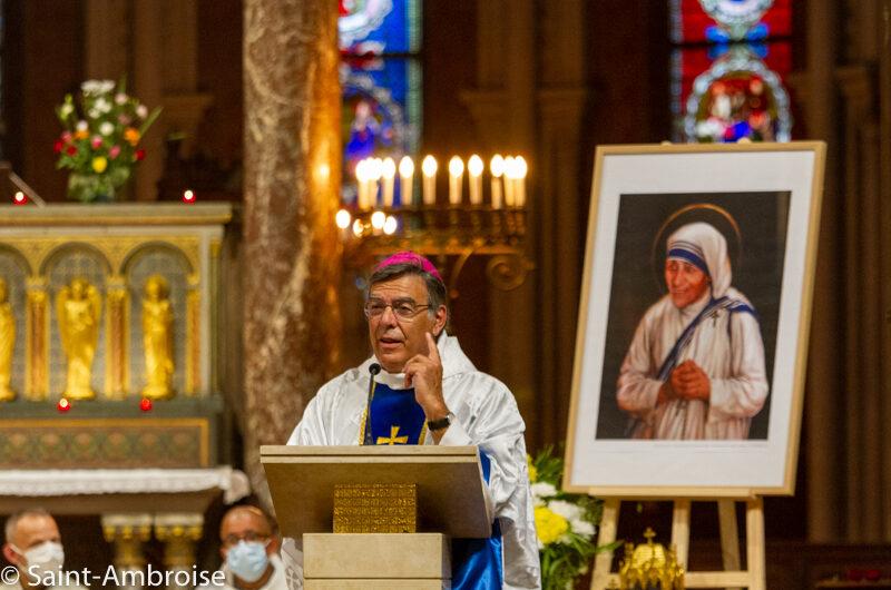 Messe de Sainte Teresa de Calcutta, photos