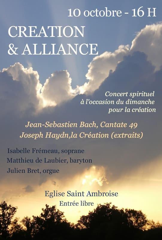 Concert pour la Création 2021 - Dimanches fraternels