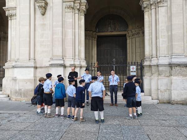 Groupe de Louveteaux à Saint Ambroise