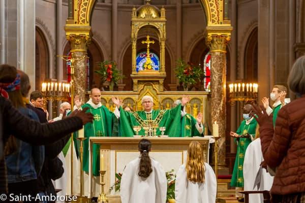 Temps pour la création - Messe avec Mgr Tois